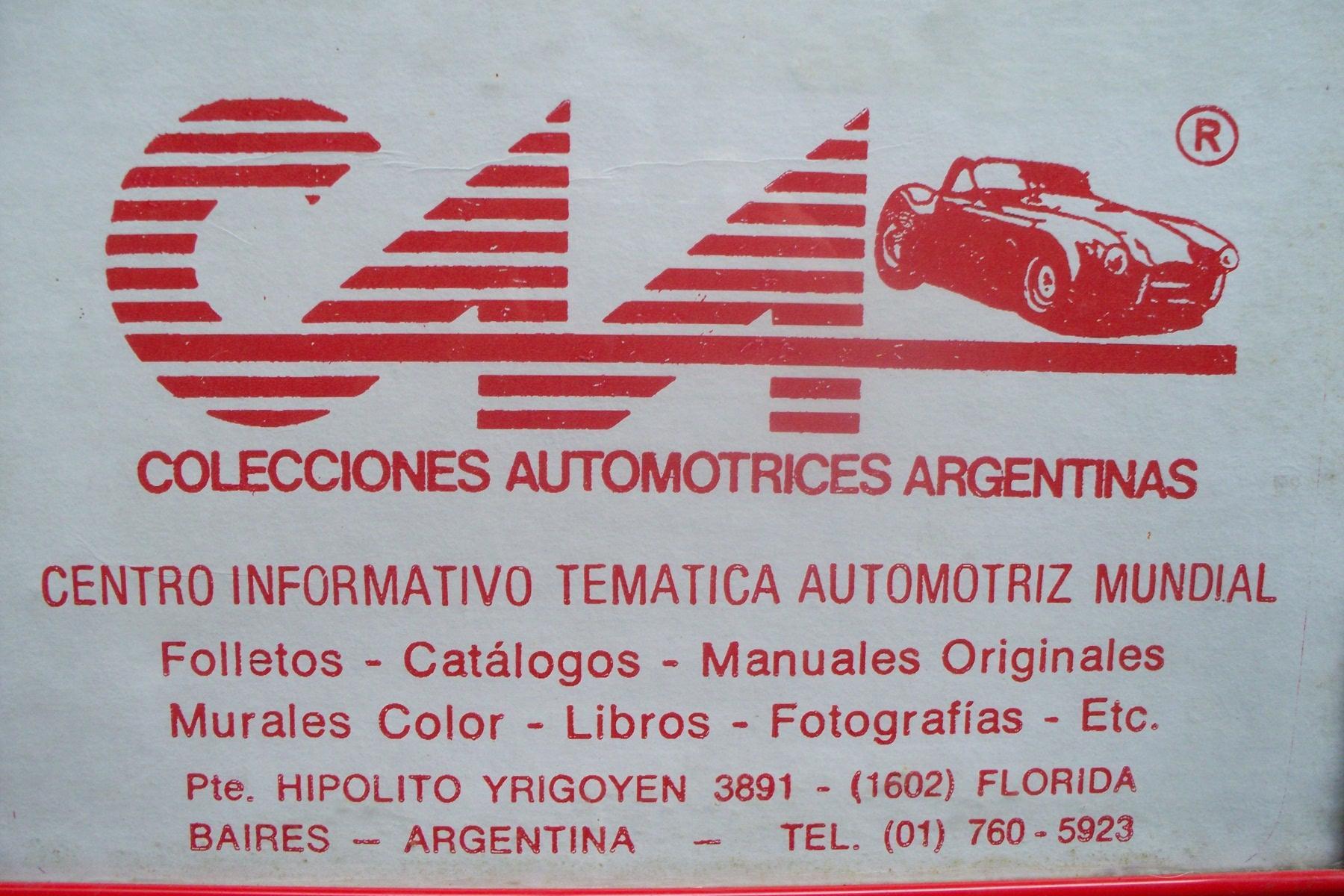 * VENTA DE MANUALES TALLER & DESPIECE AUTOMOVILES*