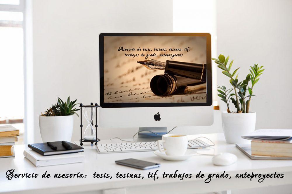 Asesoría de tesis, tesinas, tesinas, tif, trabajos de grado, ant