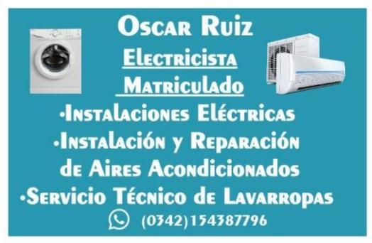 Servicios eléctricos Oscar ruiz