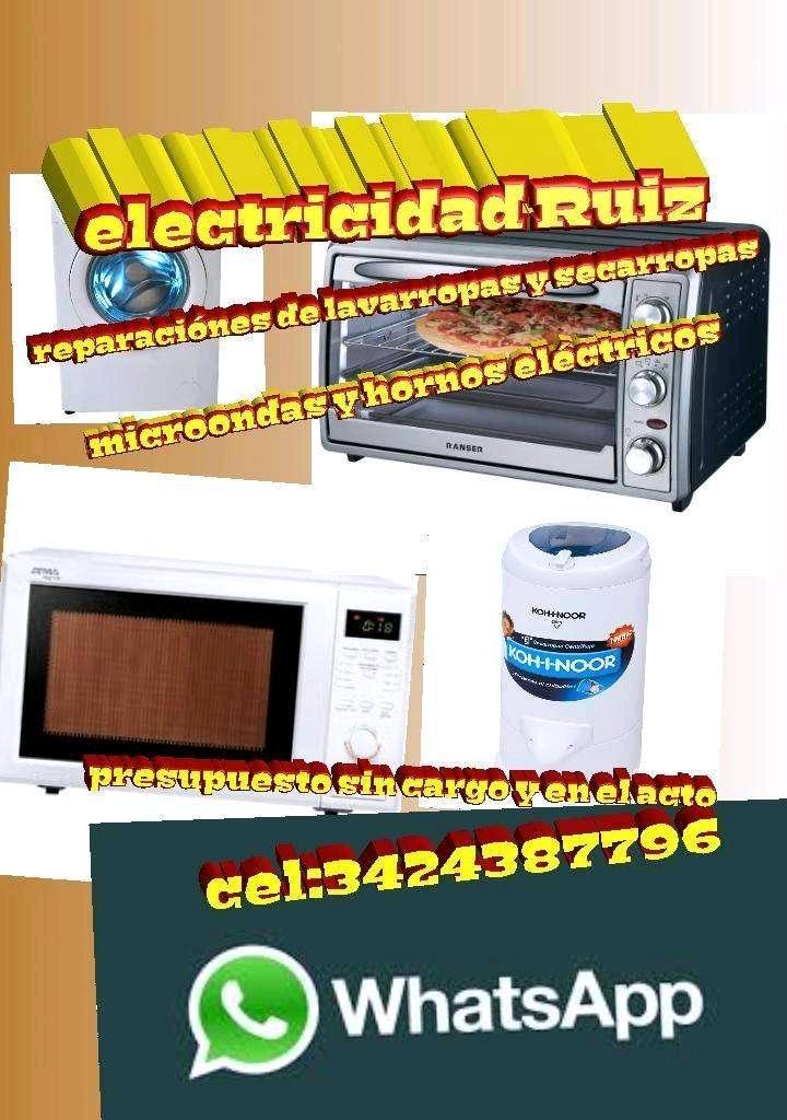 Service de lavarropas automáticos y secarropas
