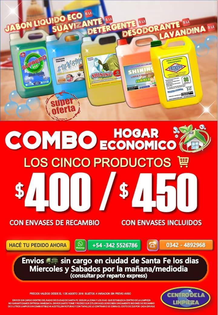 IMBATIBLE ✨LIMPIEZA???? > COMBO DE CINCO (5) PRODUCTOS X 5LT