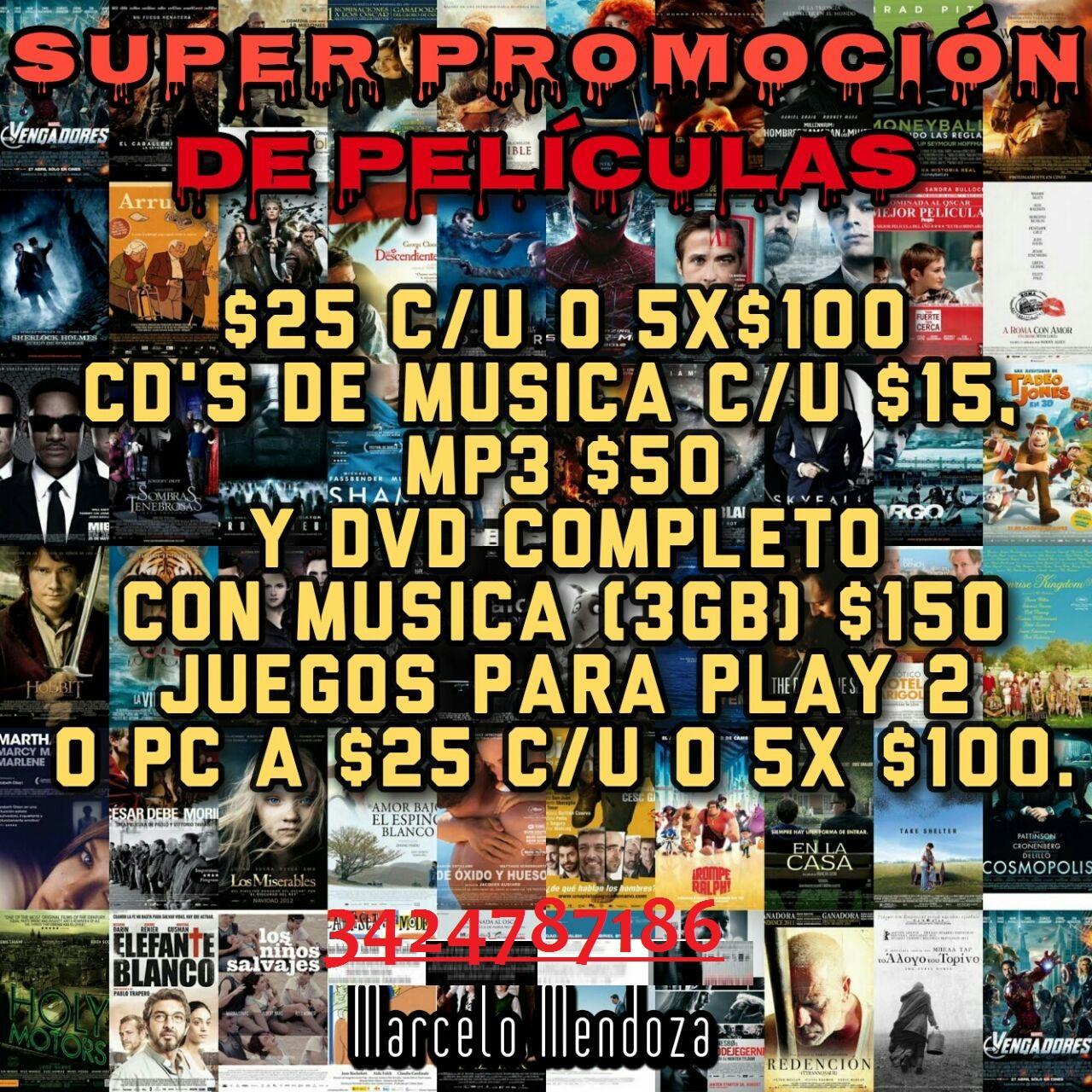 VENDO Y/O CARGO TU PENDRIVE CON MUSICA & PELIS AL MEJOR PRECIO!!