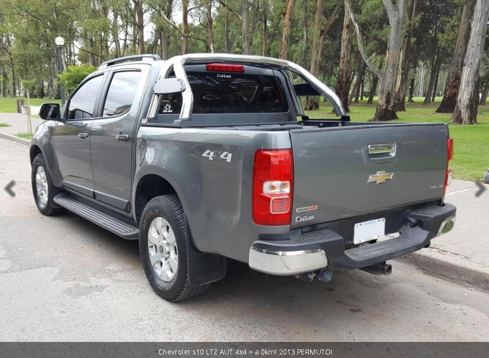 VENDO O PERMUTO Chevrolet s10 LTZ AUT 4x4 = a 0km! 2013
