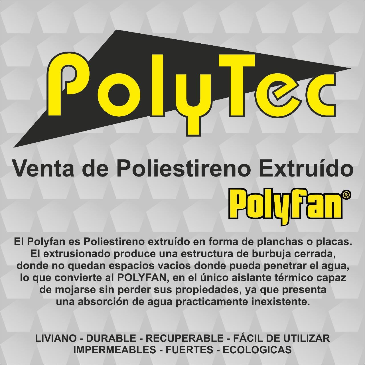 Placas de Polyfan 20 mm
